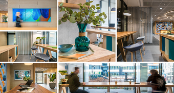 Welcome to Business Garden: a new concept of reception area