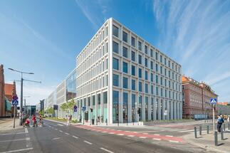 Colliers International has become the administrator of the Nowy Targ office building in Wrocław